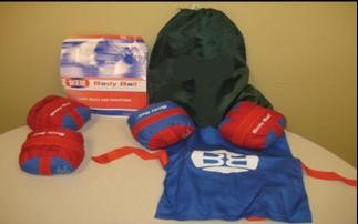 a display of the Body Ball kit