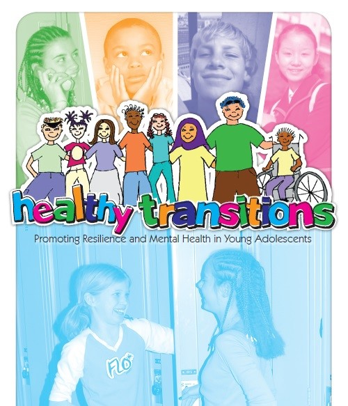 Image of Healthy Transitions Mental Health program handout