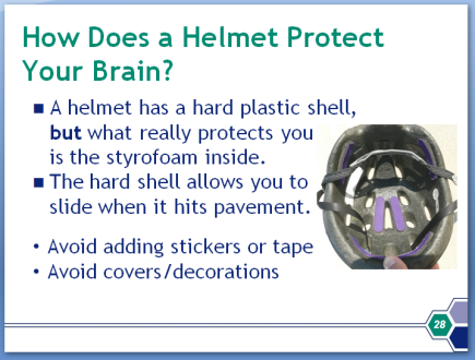 Image of Helmet Safety Powerpoint Presentation slide
