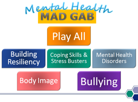 Image of Mental Health Mad Gab PowerPoint slide