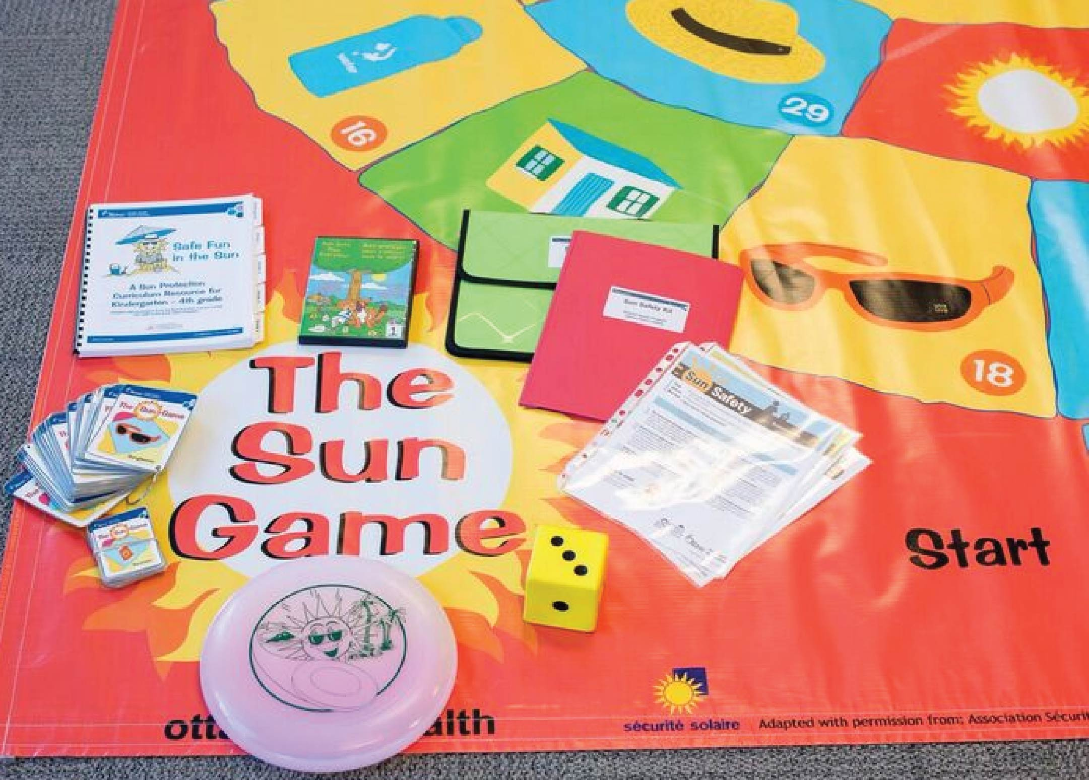 Photo of Sun Safety Kit and Mat Game