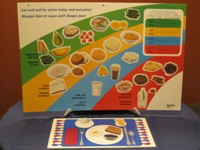 Canada's Food Guide display