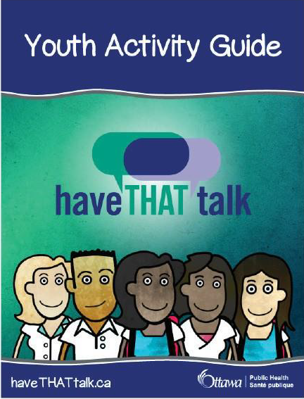 Photo of Have THAT talk youth activity guide