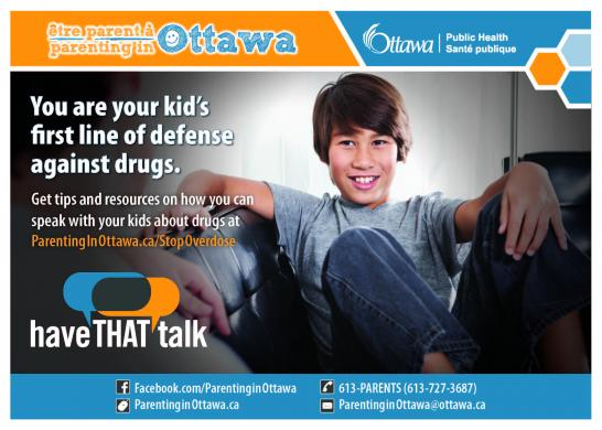 You are your kid's first line of defense against drugs