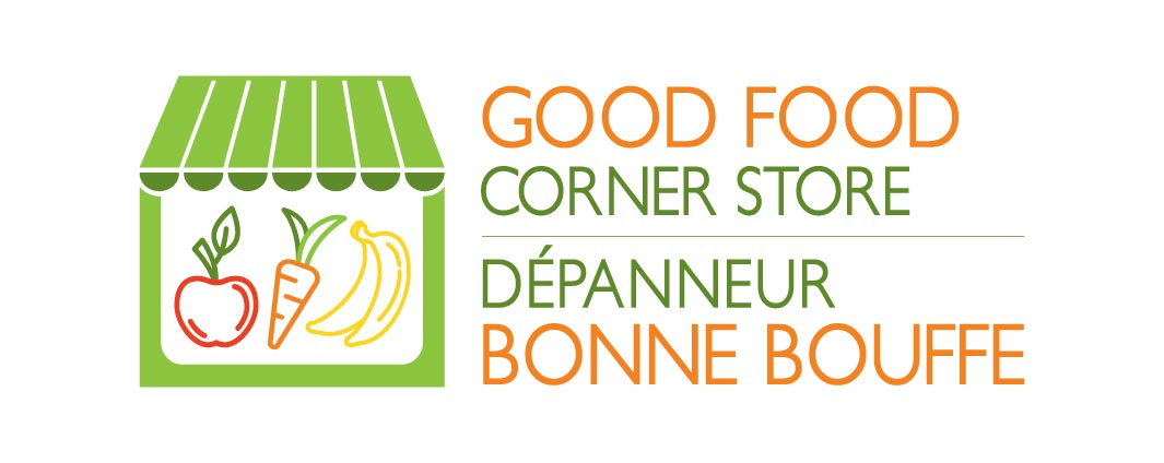 Good food corner store logo