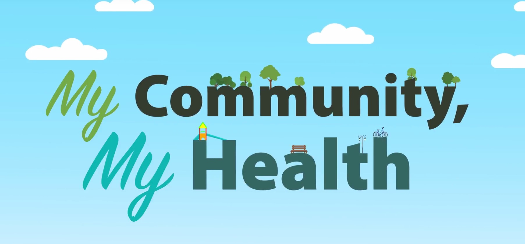 My Community My Health Banner