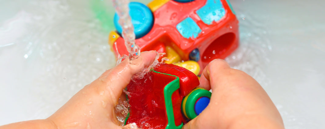 sanitizing toys with bleach