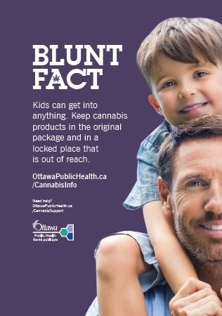 Blunt Fact Poster for Safe Storage