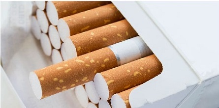 Picture of a pack of cigarettes