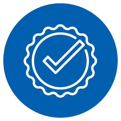 Vector image of a checkmark