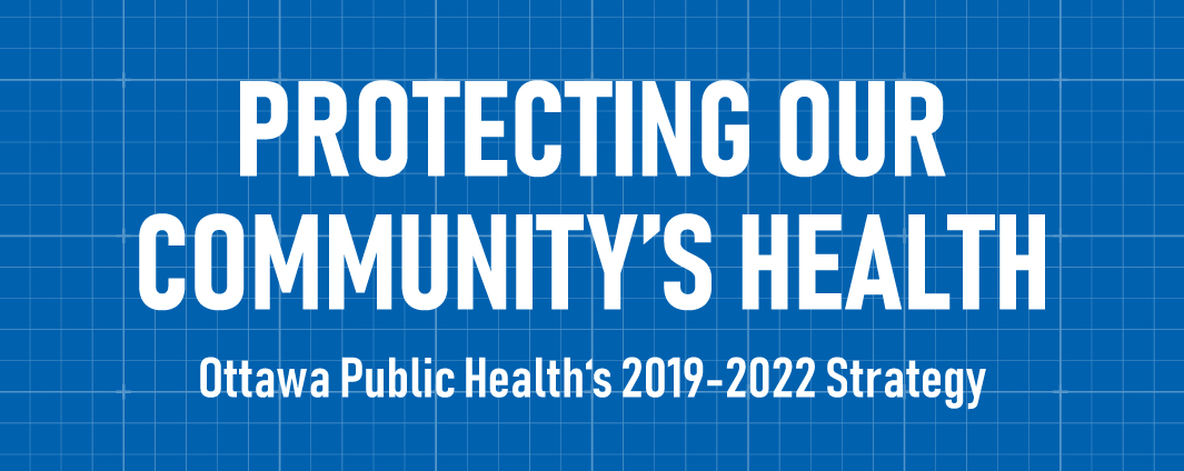 "Banner that says ""Protecting Our Community's Health 