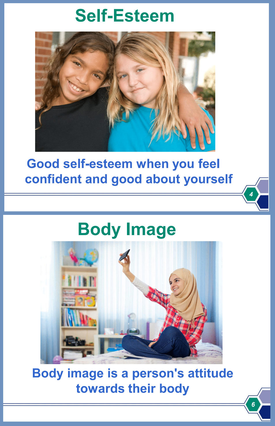 Self-esteem, body image photo